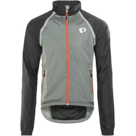 PEARL iZUMi Elite Barrier Convertible Jacket Men Smoked Pearl/Black